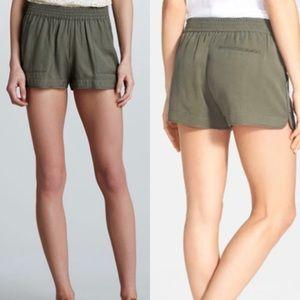 Joie Army Green Shorts Size XXS